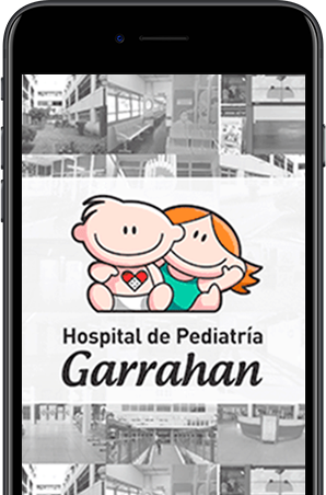 App Guivent, Hospital de Pediatría Garrahan