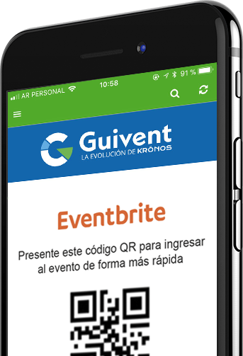 Guivent, Inscripciones y acreditaciones