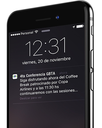 Guivent, Notificaciones
